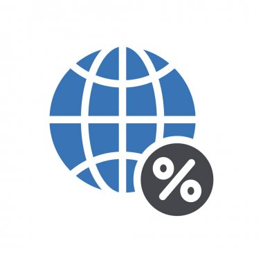 Word global  icon for website design and desktop envelopment, development. premium pack. icon