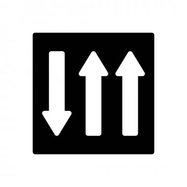 Up icon for website design and desktop envelopment, development. premium pack. icon