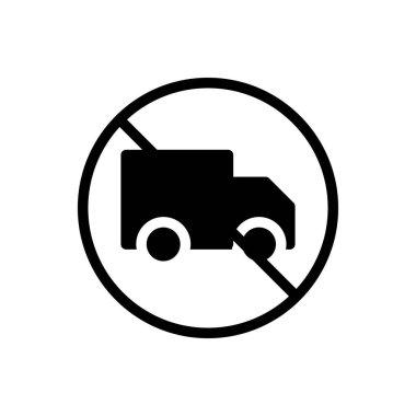 Truck icon for website design and desktop envelopment, development. premium pack. icon