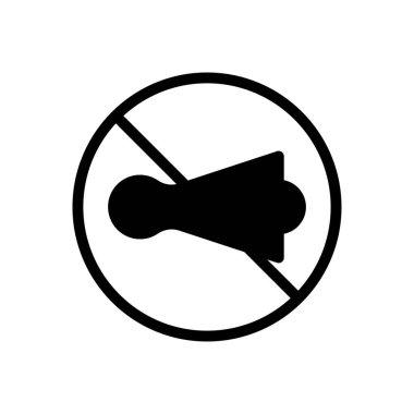 Horn  icon for website design and desktop envelopment, development. premium pack. icon