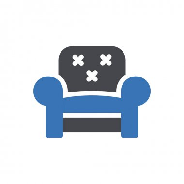 Couch icon for website and Apps design and desktop envelopment, development and Printing. Premium pack. icon