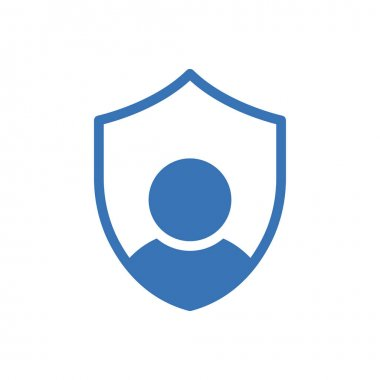 User shield icon for website and Apps design and desktop envelopment, development and Printing. Premium pack. icon