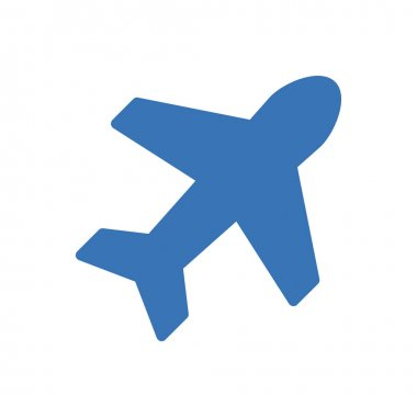 Airplane icon for website and Apps design and desktop envelopment, development and Printing. Premium pack. icon