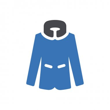 Coat icon for website and Apps design and desktop envelopment, development and Printing. Premium pack. icon