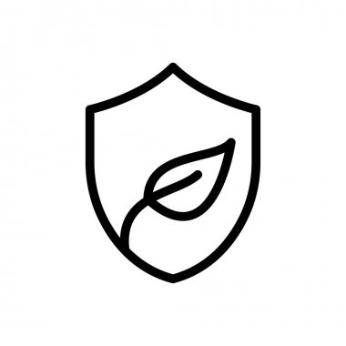 Eco shield icon for website and Apps design and desktop envelopment, development and Printing. Premium pack. icon