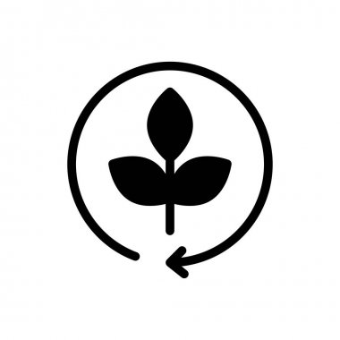 Eco recycle icon for website and Apps design and desktop envelopment, development and Printing. Premium pack. icon