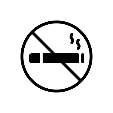 Stop smoking icon for website and Apps design and desktop envelopment, development and Printing. Premium pack. icon