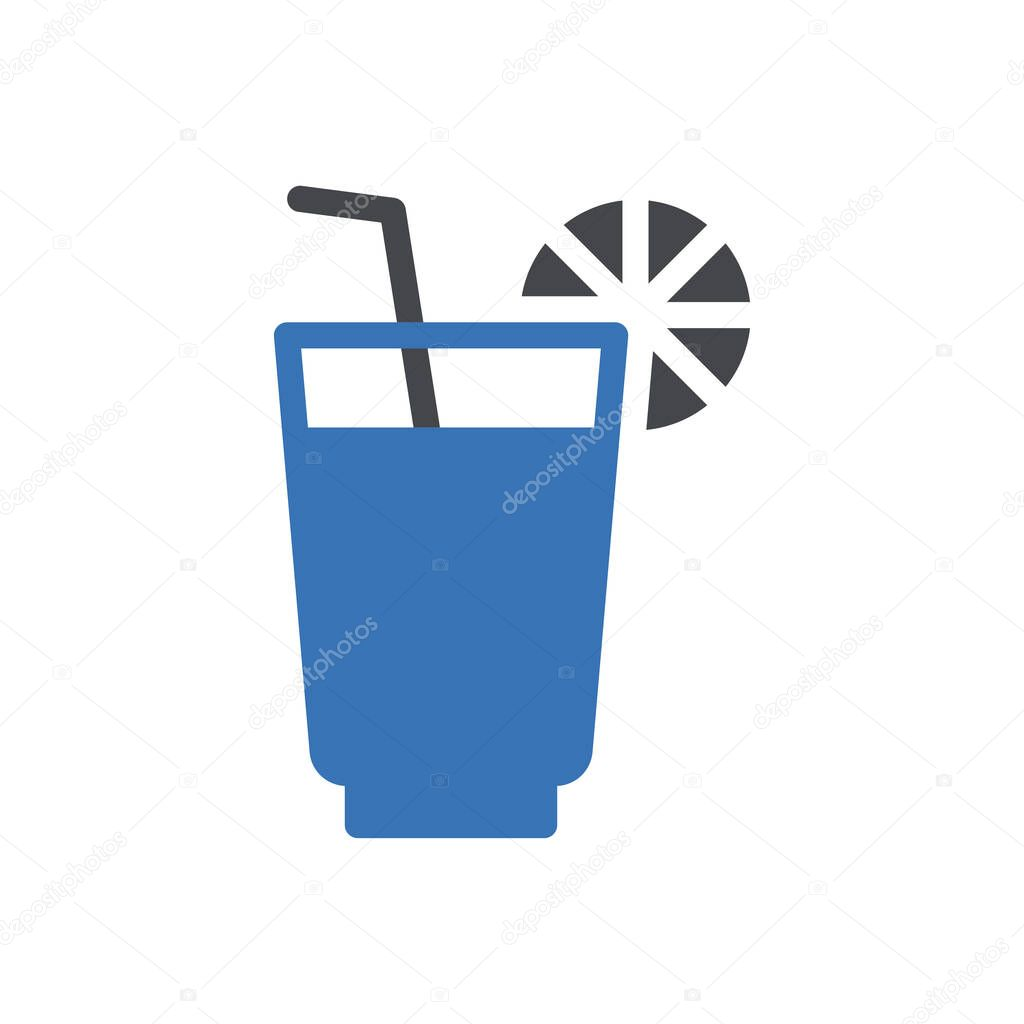 Juice icon for website and Apps design and desktop envelopment  development and Printing icon