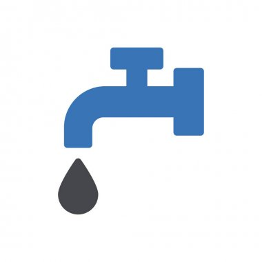 Water tap icon for website and Apps design and desktop envelopment, development and Printing. Premium pack. icon