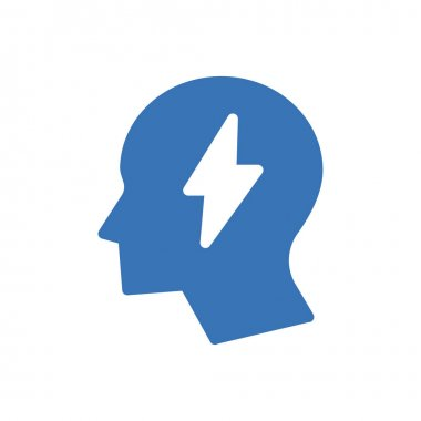 Mind energy icon for website and Apps design and desktop envelopment, development and Printing. Premium pack. icon