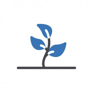 Leaf plant icon for website and Apps design and desktop envelopment, development and Printing. Premium pack. icon