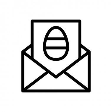 Easter invitation icon for website and Apps design and desktop envelopment, development and Printing. Premium pack. icon