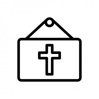 Easter board hanging icon for website and Apps design and desktop envelopment, development and Printing. Premium pack. icon