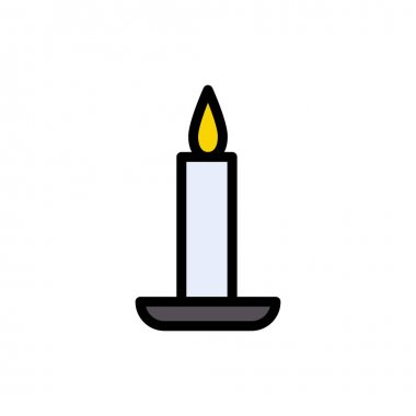 Candle icon for website and Apps design and desktop envelopment, development and Printing. Premium pack. icon