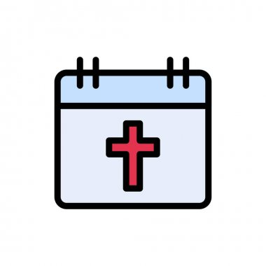 Easter date icon for website and Apps design and desktop envelopment, development and Printing. Premium pack. icon