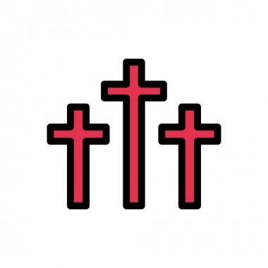 Catholic icon for website and Apps design and desktop envelopment, development and Printing. Premium pack. icon