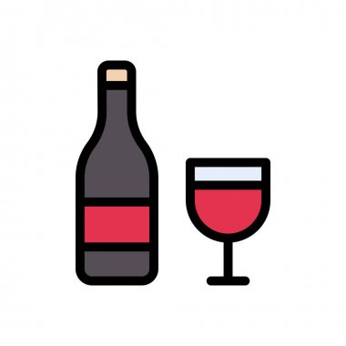 Wine icon for website and Apps design and desktop envelopment, development and Printing. Premium pack. icon