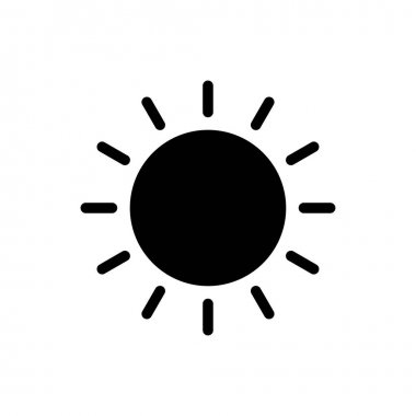 Sun icon for website and Apps design and desktop envelopment, development and Printing. Premium pack. icon