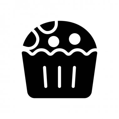 Cupcake icon for website and Apps design and desktop envelopment, development and Printing. Premium pack. icon