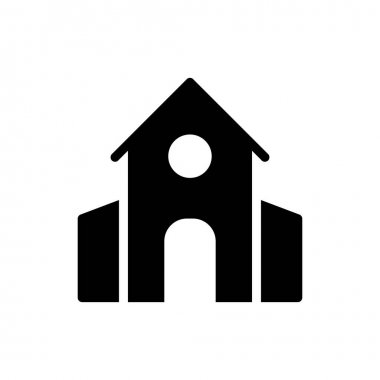 Church icon for website and Apps design and desktop envelopment, development and Printing. Premium pack. icon