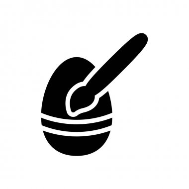 Egg paint icon for website and Apps design and desktop envelopment, development and Printing. Premium pack. icon