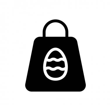 Easter bag icon for website and Apps design and desktop envelopment, development and Printing. Premium pack. icon