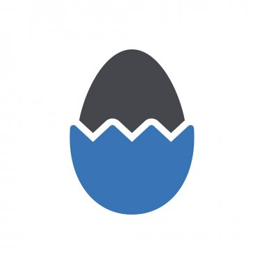 Easter egg icon for website and Apps design and desktop envelopment, development and Printing. Premium pack. icon
