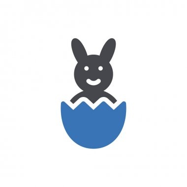 Rabbit icon for website and Apps design and desktop envelopment, development and Printing. Premium pack. icon