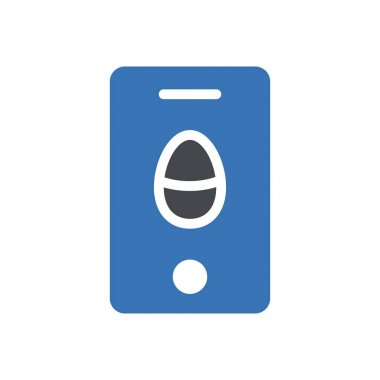 Mobile easter icon for website and Apps design and desktop envelopment, development and Printing. Premium pack. icon