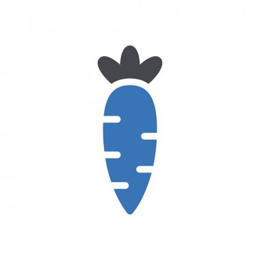 Carrot icon for website and Apps design and desktop envelopment, development and Printing. Premium pack. icon