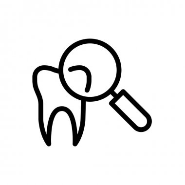 Glass teeth  icon for website and Apps design and desktop envelopment, development and Printing. Premium pack. icon