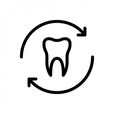 Teeth shield icon for website and Apps design and desktop envelopment, development and Printing. Premium pack. icon