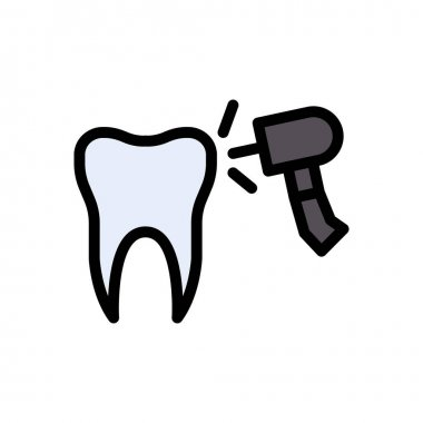 Teeth decayed icon for website and Apps design and desktop envelopment, development and Printing. Premium pack. icon