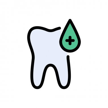 Oral blood icon for website and Apps design and desktop envelopment, development and Printing. Premium pack. icon