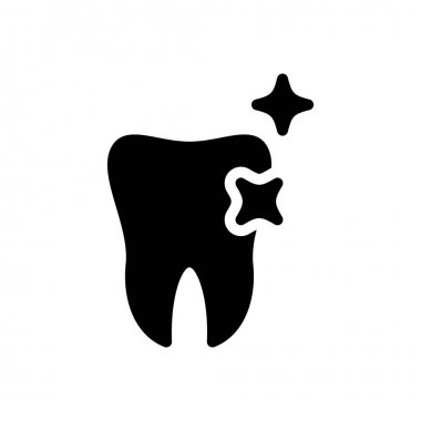 Teeth shine icon for website and Apps design and desktop envelopment, development and Printing. Premium pack. icon
