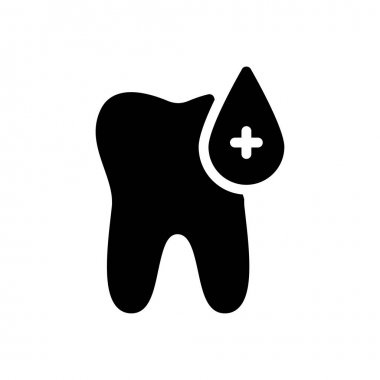 Oral blood icon for website design and desktop envelopment, development. Premium pack. icon