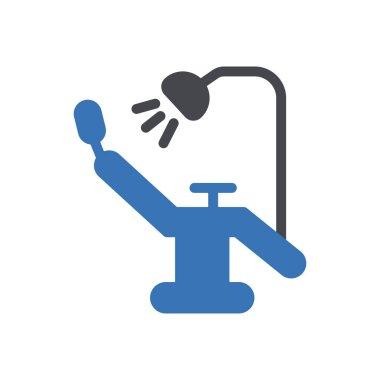 Dental clinic icon for website design and desktop envelopment, development. Premium pack. icon
