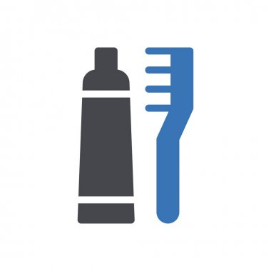 Toothpaste icon for website design and desktop envelopment, development. Premium pack. icon