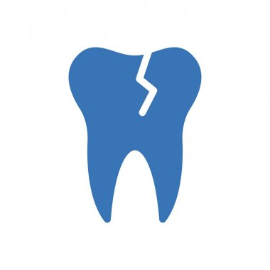 Teeth broken icon for website design and desktop envelopment, development. Premium pack. icon