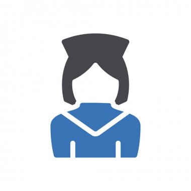 Nurse icon for website design and desktop envelopment, development. Premium pack. icon