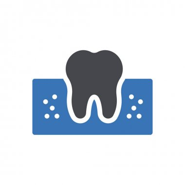 Teeth cavity icon for website design and desktop envelopment, development. Premium pack. icon