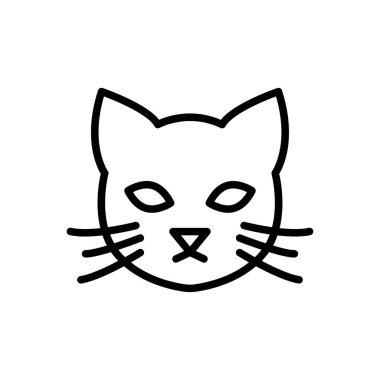 Cat icon for website design and desktop envelopment, development. Premium pack. icon