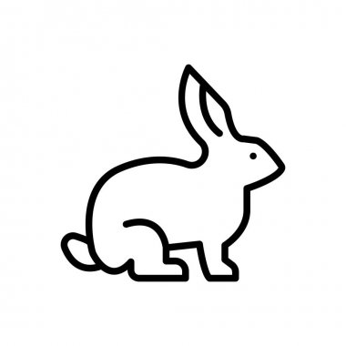 Rabbit icon for website design and desktop envelopment, development. Premium pack. icon