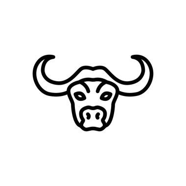 Bull  icon for website design and desktop envelopment, development. Premium pack. icon