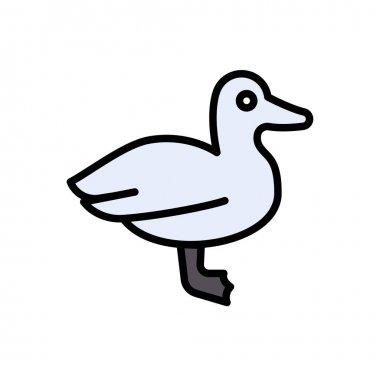 Duck icon for website design and desktop envelopment, development. Premium pack. icon