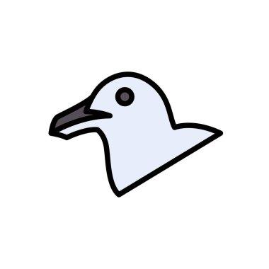 Bird icon for website design and desktop envelopment, development. Premium pack. icon