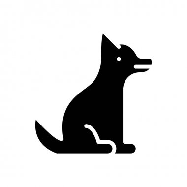 Dog icon for website design and desktop envelopment, development. Premium pack. icon