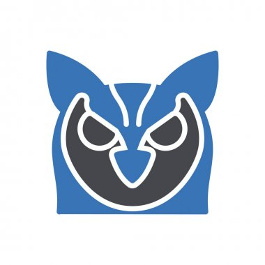 Owl icon for website design and desktop envelopment, development. Premium pack. icon