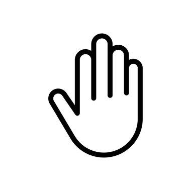 Hand icon for website design and desktop envelopment, development. Premium pack. icon