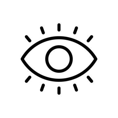 Eye icon for website design and desktop envelopment, development. Premium pack. icon